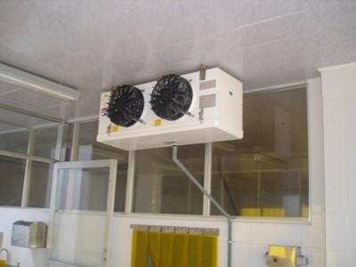 nhà thầu điện lạnh AHK chuyên thi công các dàn lạnh, hệ thống thông gió công nghiệp