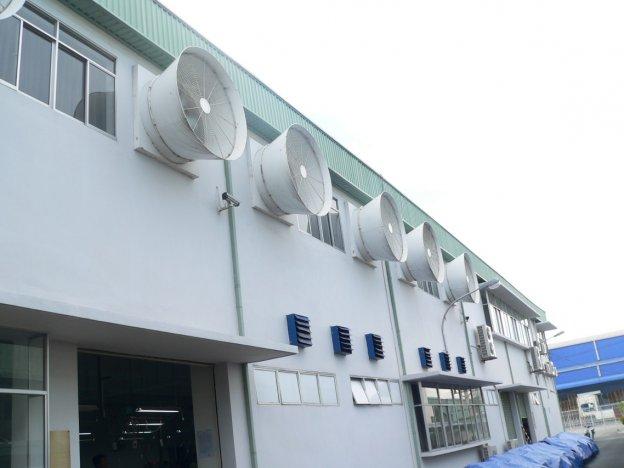 Nhà thầu cơ điện thi công hệ thống thông gió cho xí nghiệp