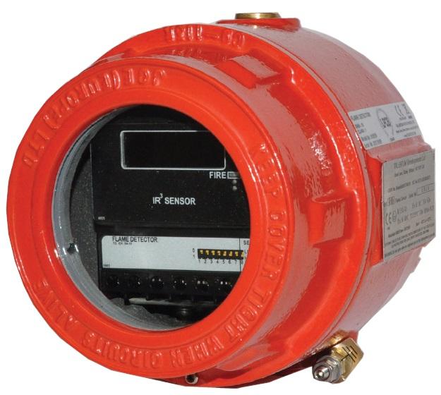 Đầu dò lửa chống cháy nổ BOSCH 016519 IR3