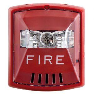 Đèn, còi báo cháy lắp tường BOSCH W-HSR
