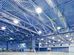 hệ thống điện chiếu sáng nhà xưởng, công trình
