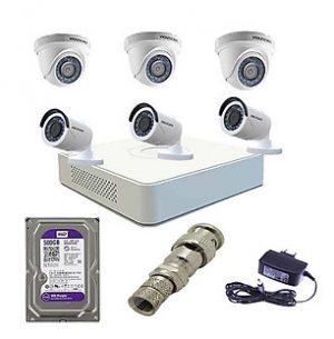 6 mat camera hikvision