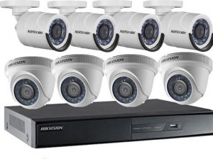 bộ 8 camera hikvision 720p
