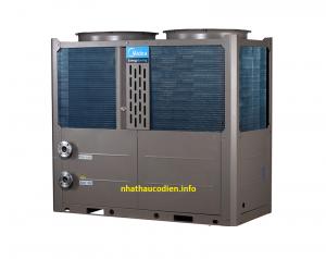 máy bơm nhiệt khách sạn resort midea